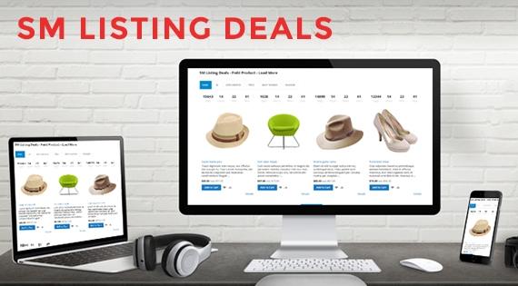 SM Listing Deals - Responsive Magento 2 Module