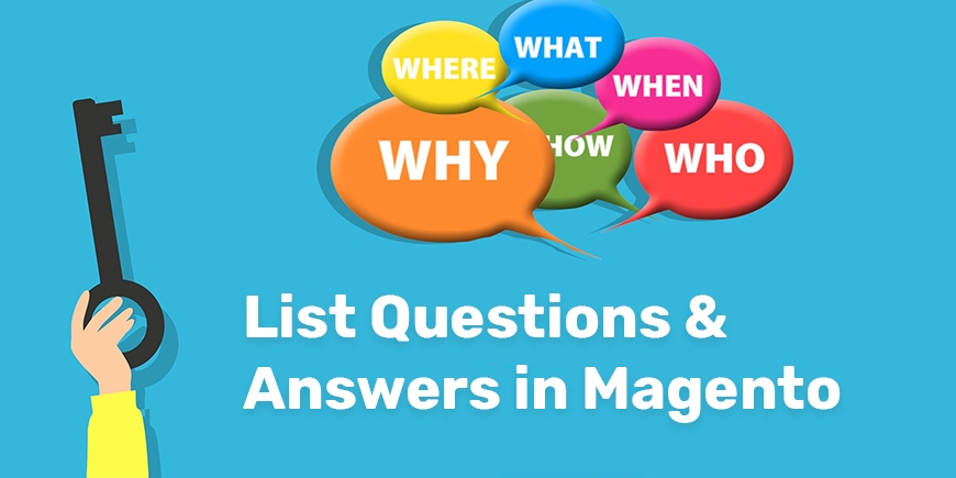 List Questions & Answers in Magento