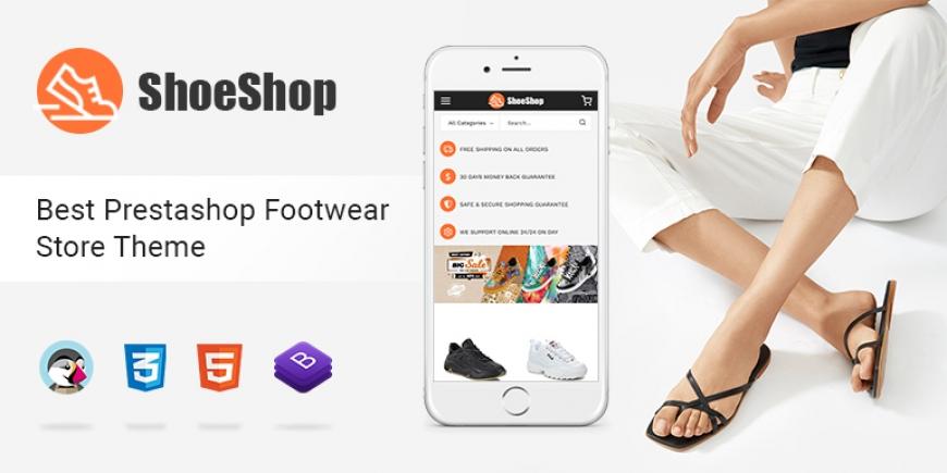 SP Shoeshop - Best Responsive Prestashop 1.7 Theme