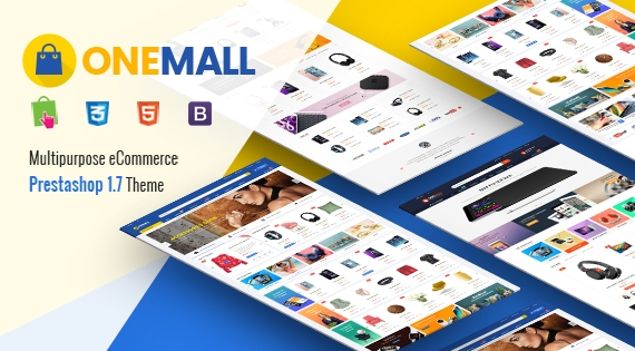 OneMall - Responsive Flexible PrestaShop 1.7 Theme