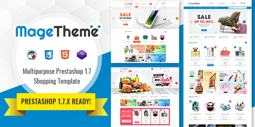 SP Magetheme - Responsive PrestaShop 1.7 Shopping Template