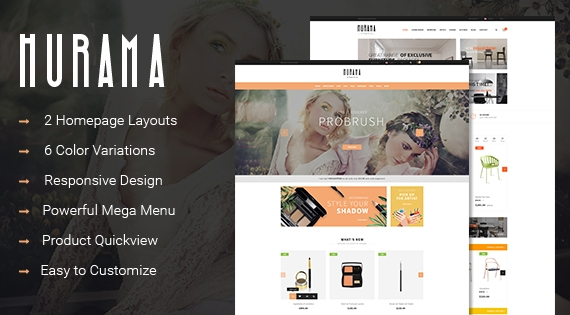 SO Hurama - Responsive OpenCart Theme