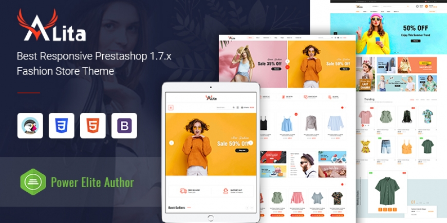 SP Alita - Multipurpose Responsive PrestaShop 1.7 Digital Theme