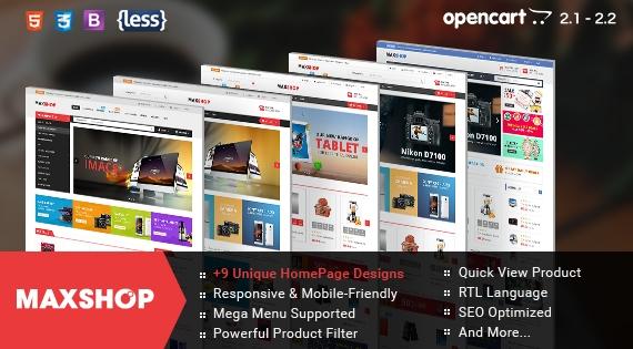 So Maxshop - Responsive OpenCart Theme