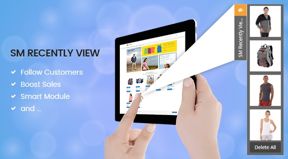 SM Recently View - Best Magento Responsive 2 Module to Boost Sale