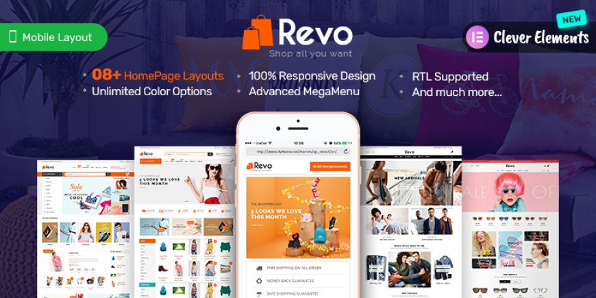 SP Revo - Responsive PrestaShop 1.6 and 1.7 Theme