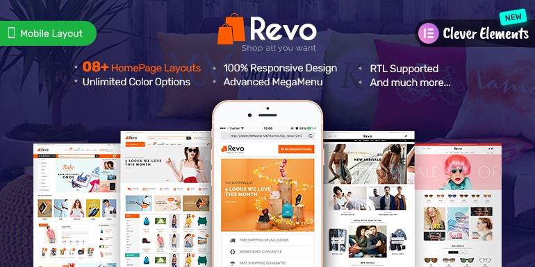SP Revo - Responsive PrestaShop 1.6 and 1.7 Theme