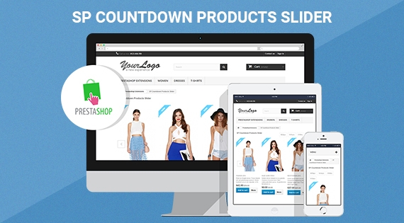 SP Countdown Product Slider - Responsive Prestashop Module