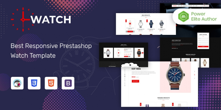 SP Watch - Multipurpose Responsive PrestaShop 1.7 Store Theme