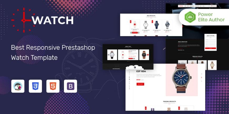 SP Watch - Multipurpose Responsive PrestaShop 1.7 Store Theme