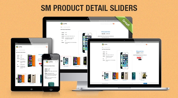 SM Product Detail Sliders - Responsive Magento 2 Module