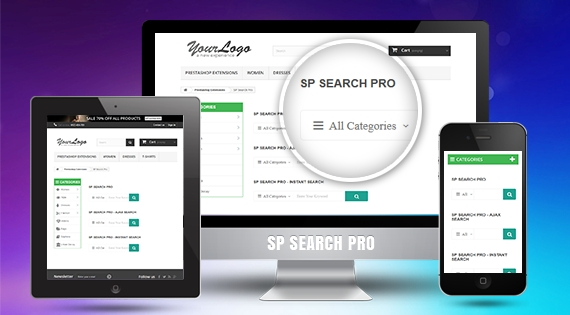 SP Search Pro - Responsive Prestashop Module