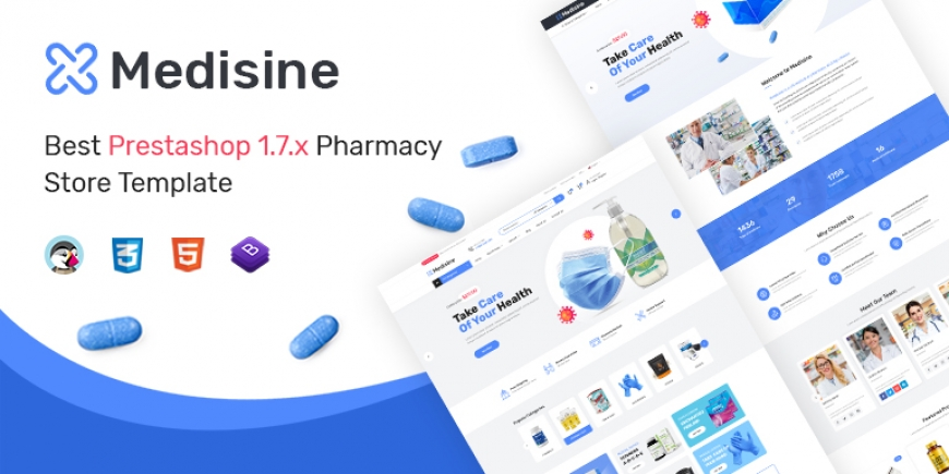 Medisine - Drug and Medical Store Prestashop 1.7 Theme