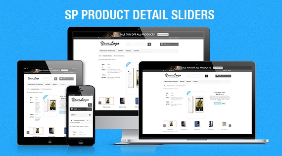 SP Product Detail Sliders - Responsive Prestashop Module