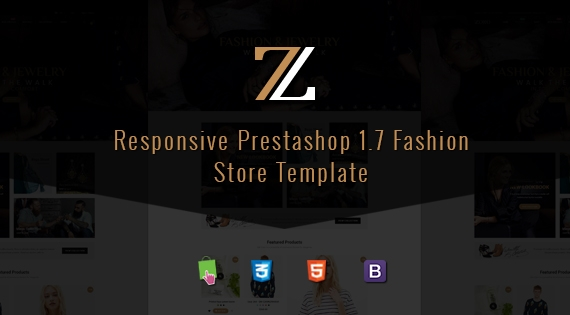 Zoro - Responsive PrestaShop 1.7 Fashion Theme