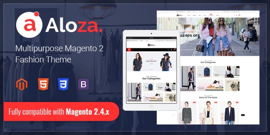 SM Aloza - Responsive Magento 2 Fashion Theme