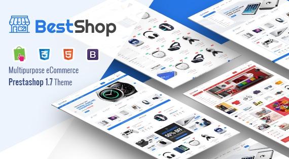 BestShop - Responsive PrestaShop 1.7 Multipurpose Theme