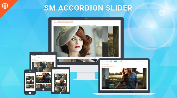 SM Accordion Slider - Responsive Module for Magento