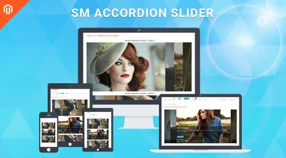 SM Accordion Slider - Responsive Module for Magento