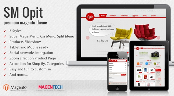 SM Opit - Theme for Magento