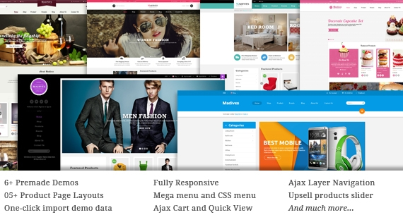 SM Madives - Responsive Multipurpose Theme for Magento 1x