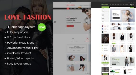 So Love Fashion - Responsive OpenCart Theme