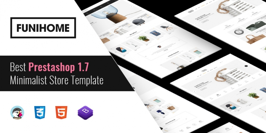 SP FuniHome - Multipurpose Responsive PrestaShop 1.7 Furniture Theme