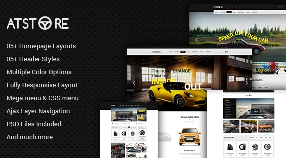 ATstore - Responsive Multipurpose Theme for Magento