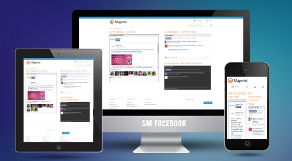 SM Facebook - Free Responsive Magento Module