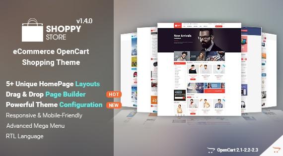 So ShoppyStore - Responsive OpenCart Theme