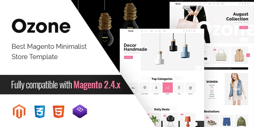 SM Ozone - Best Magento Minimalist Theme