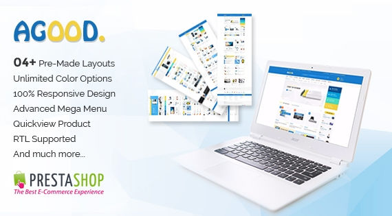 SP Agood - Premium Responsive Prestashop Theme