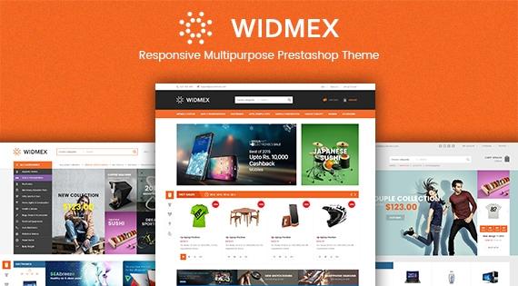 SP Widmex - Premium Responsive Prestashop Theme