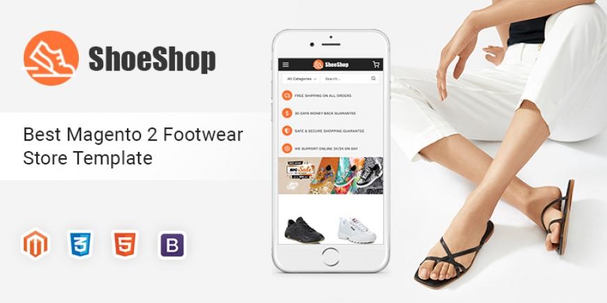 SM ShoeShop - Footwear Store Magento 2 Theme