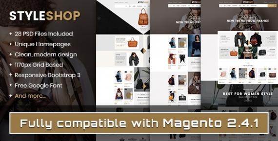 SM Styleshop - Responsive Magento 2.1.x Fashion Theme