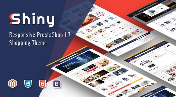 Shiny - Responsive Creative PrestaShop 1.7 Theme