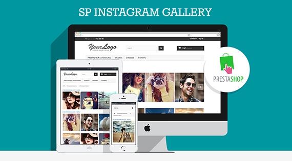 SP Instagram Gallery - Responsive Prestashop Module