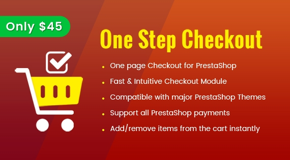 SP One Step Checkout - Responsive Prestashop Module