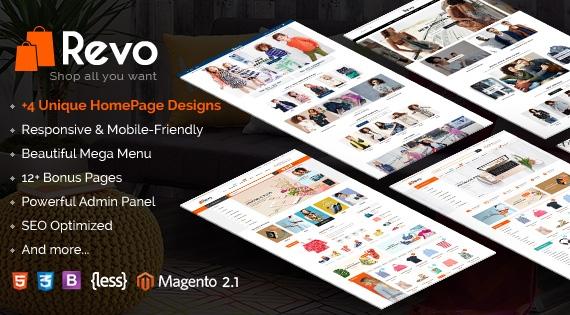 SM Revo - Responsive Magento 2 Store Theme