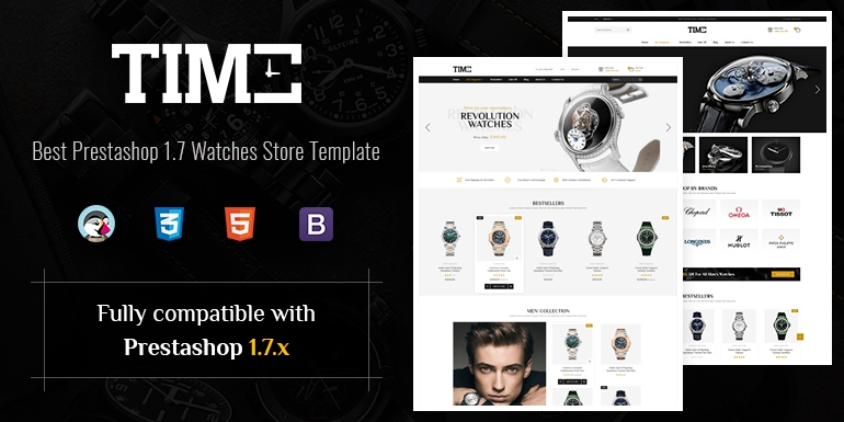 SP Time - Modern Prestashop 1.7 Watch Store Theme