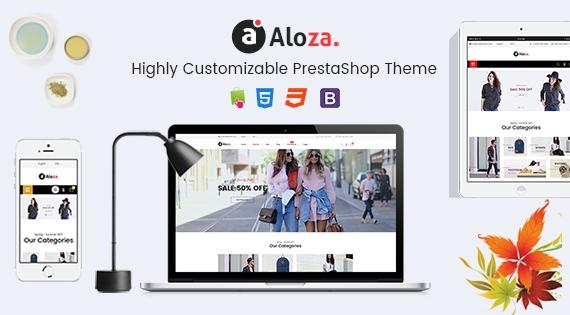 Aloza - Responsive PrestaShop 1.7 Fashion Theme