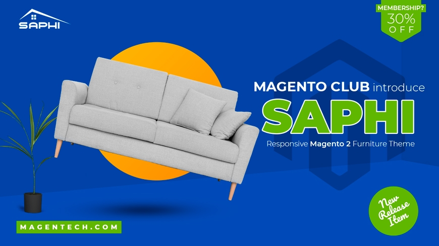 Club Magento Theme Welcomes New Release: SM Saphi