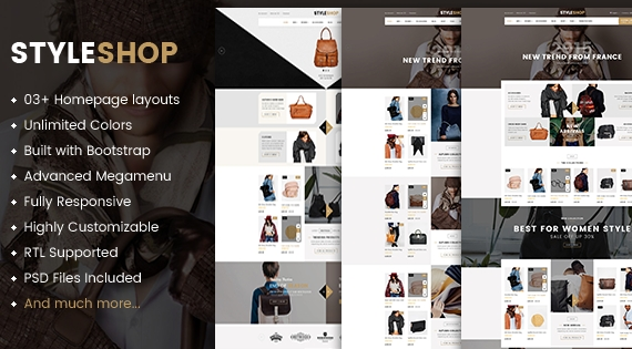 Styleshop - Responsive Multipurpose Prestashop Theme